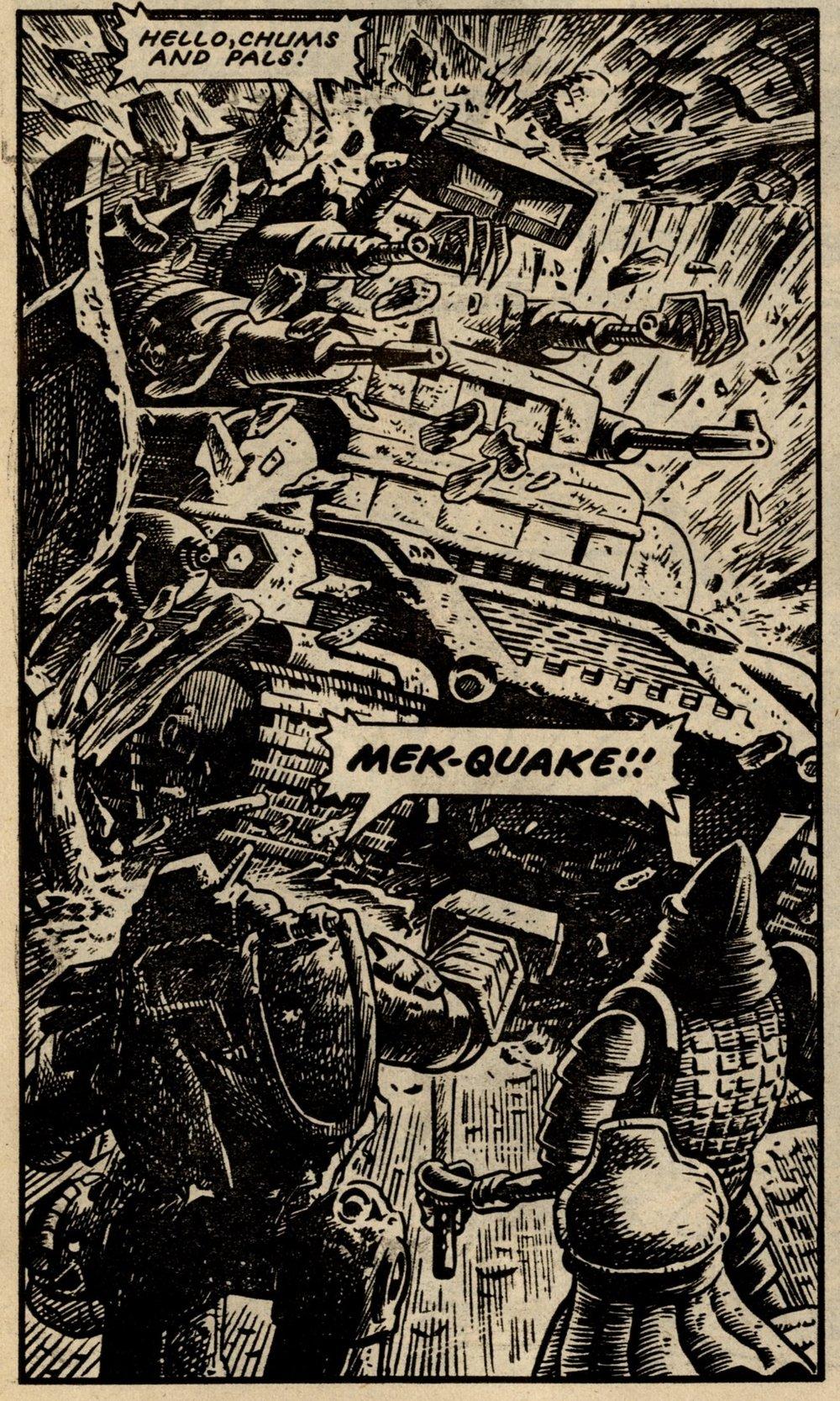 Nemesis the Warlock: Pat Mills (writer), Bryan Talbot (artist)