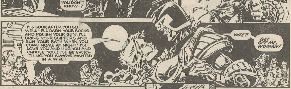 Judge Dredd: John Wagner and Alan Grant (writers), Ian Gibson (artist)