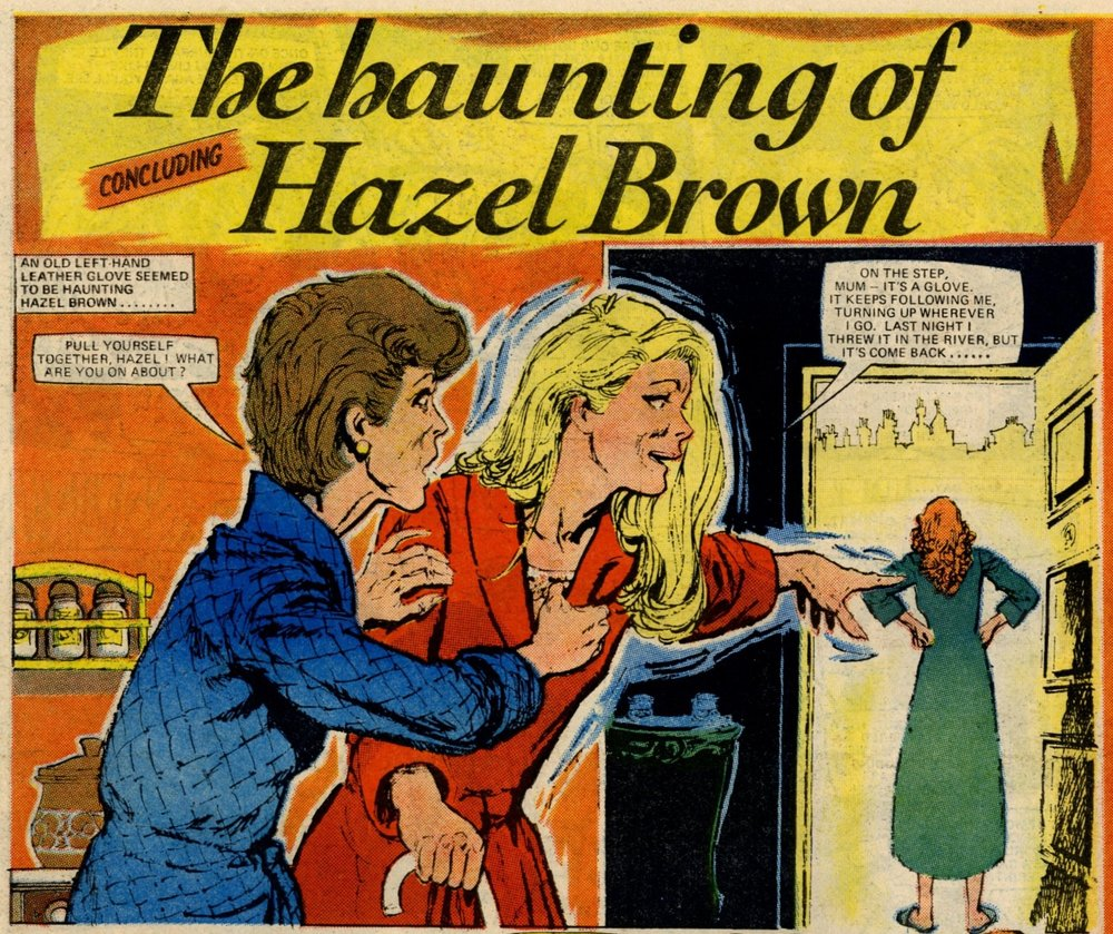 The Haunting of Hazel Brown: Jaime Rumeu (artist)