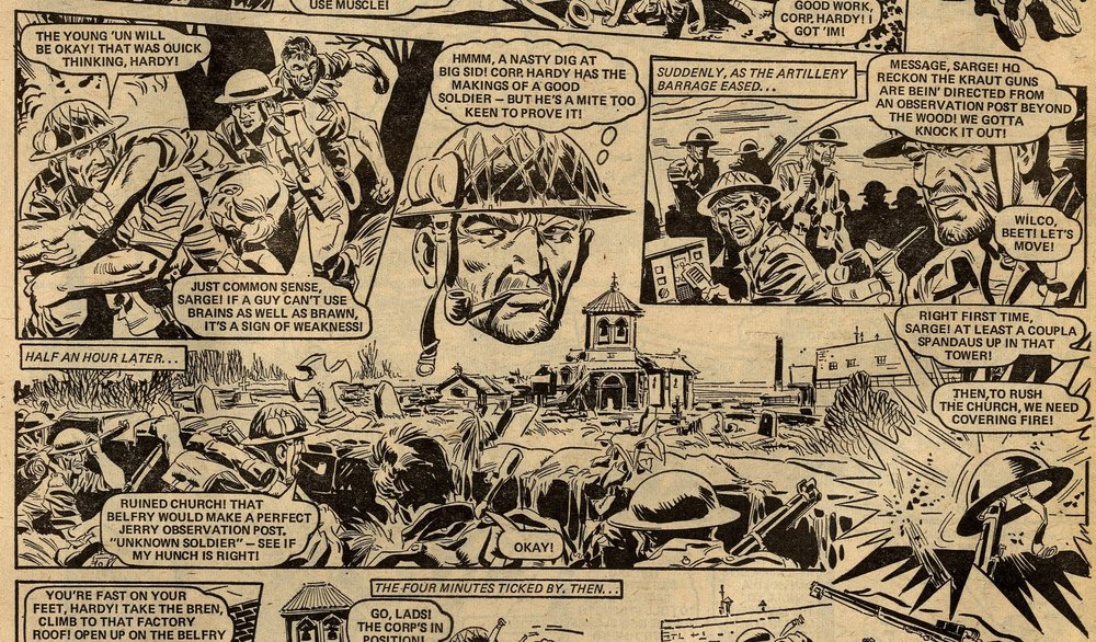 The Sarge: Scott Goodall (writer), Phil Gascoine (artist)
