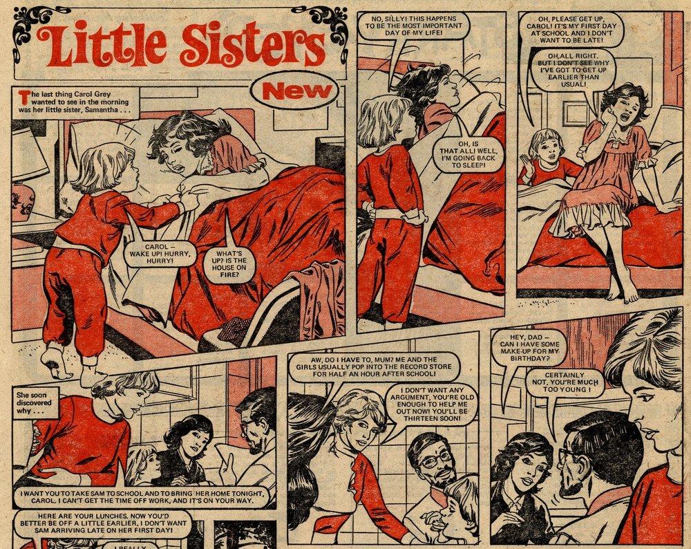 Little Sisters: Mario Capaldi (artist)