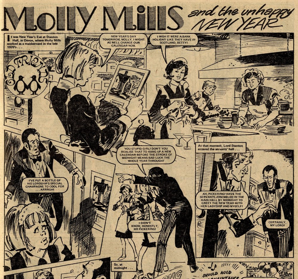 Molly Mills: Maureen Spurgeon (writer), Douglas Perry (artist)