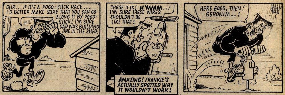 Frankie Stein: Robert Nixon (artist)