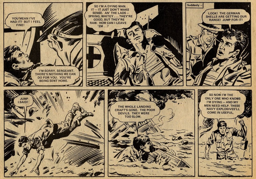 D-Day Dawson: 'Beach Head!': Gerry Finley-Day (writer), Geoff Campion (artist)