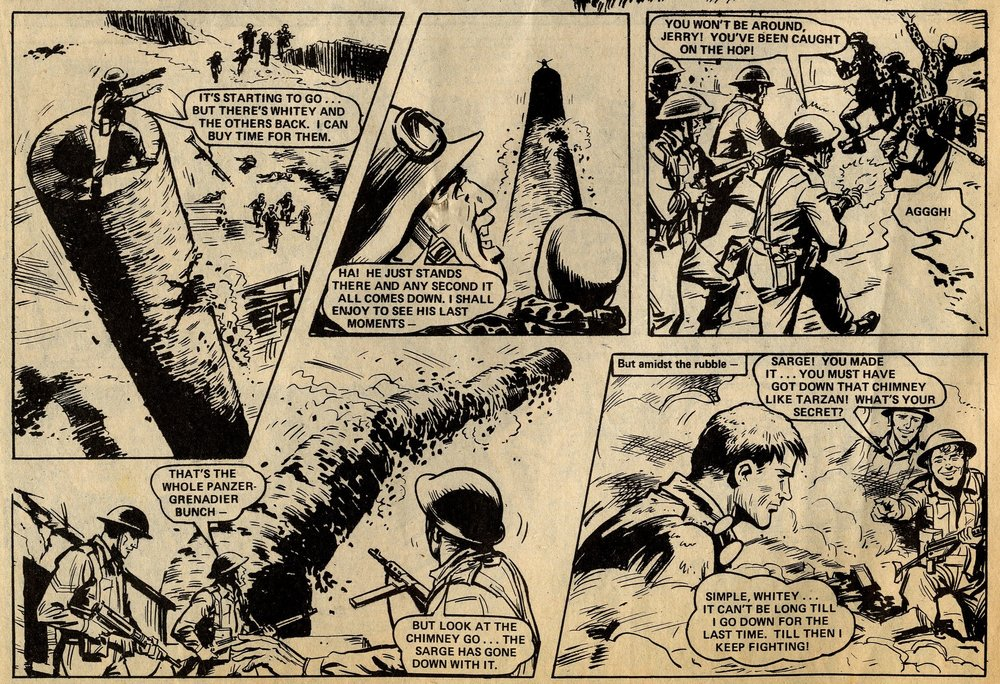 D-Day Dawson: 'Suicide Attack': Gerry Finley-Day (writer), Colin Page (artist)