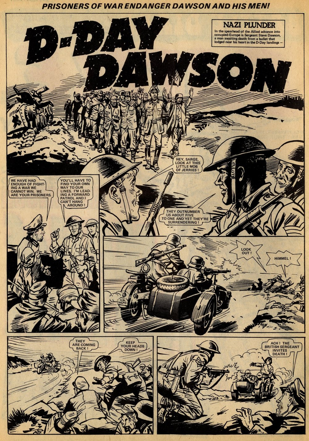D-Day Dawson: 'Nazi Plunder': Ron Carpenter (writer), Geoff Campion (artist)