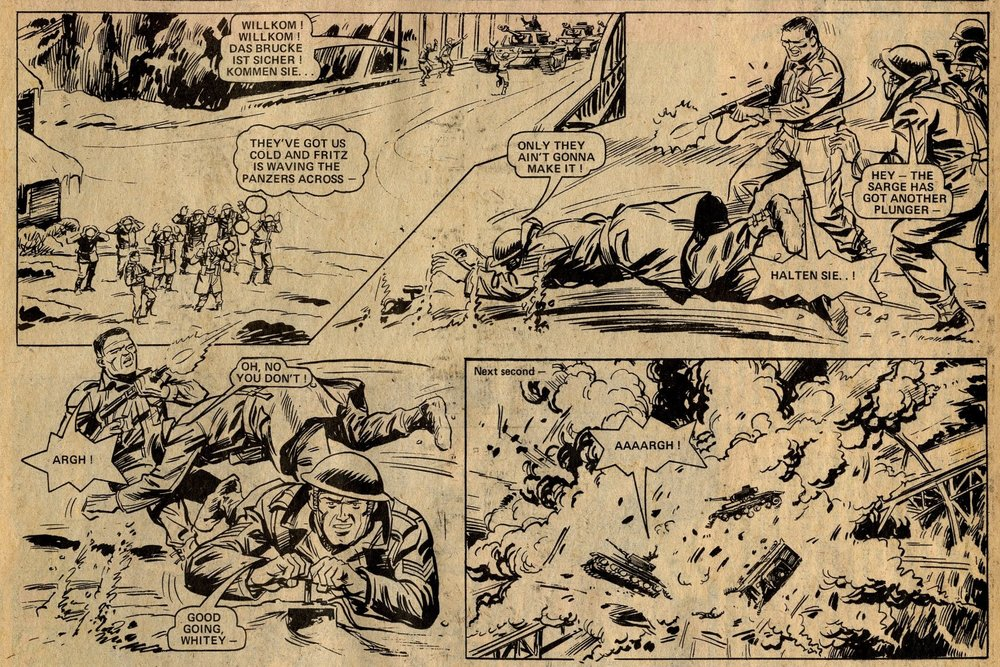 D-Day Dawson: 'Blow the Bridge': Alan Hebden (writer), Geoff Campion (artist)