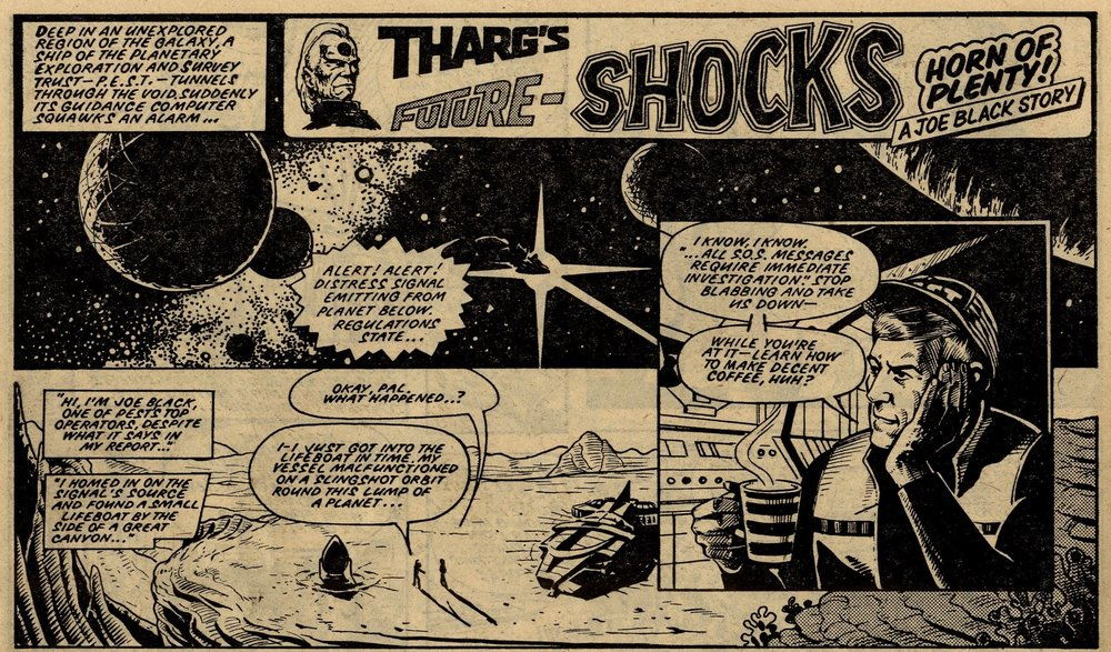 Tharg's Future Shocks: The Horn of Plenty!: Kelvin Gosnell (writer), John Higgins (artist)