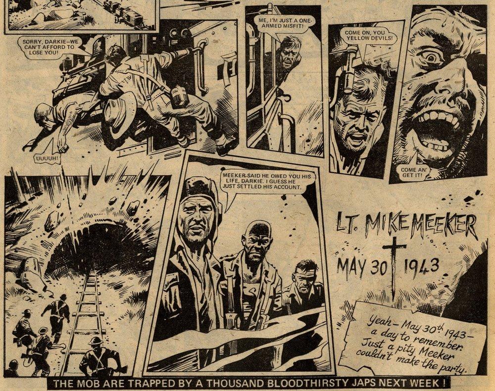 Darkie's Mob: John Wagner (writer), Mike Western (artist)