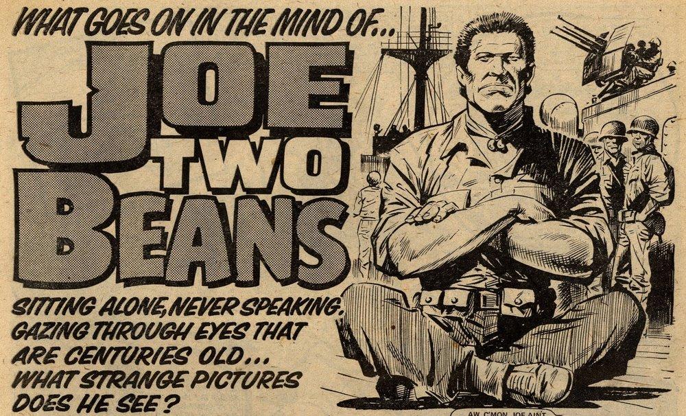 Joe Two Beans: John Wagner (writer), Eric Bradbury (artist)