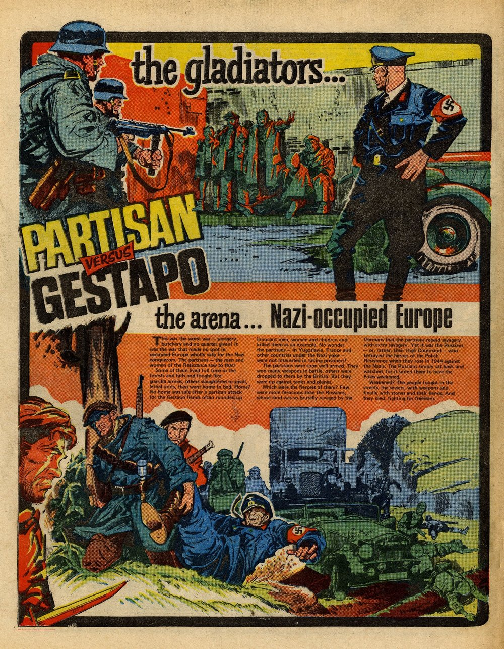 Partisan versus Gestapo: Jim Watson (artist)