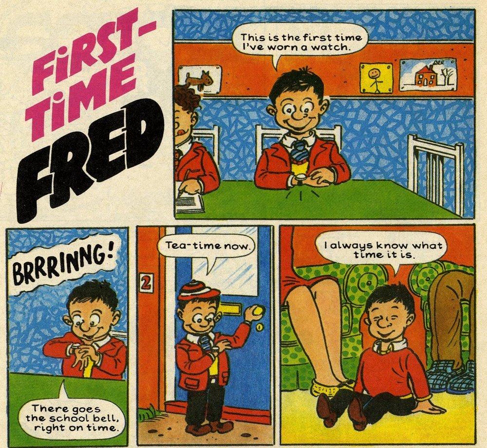 First-time Fred: David Jones (artist)