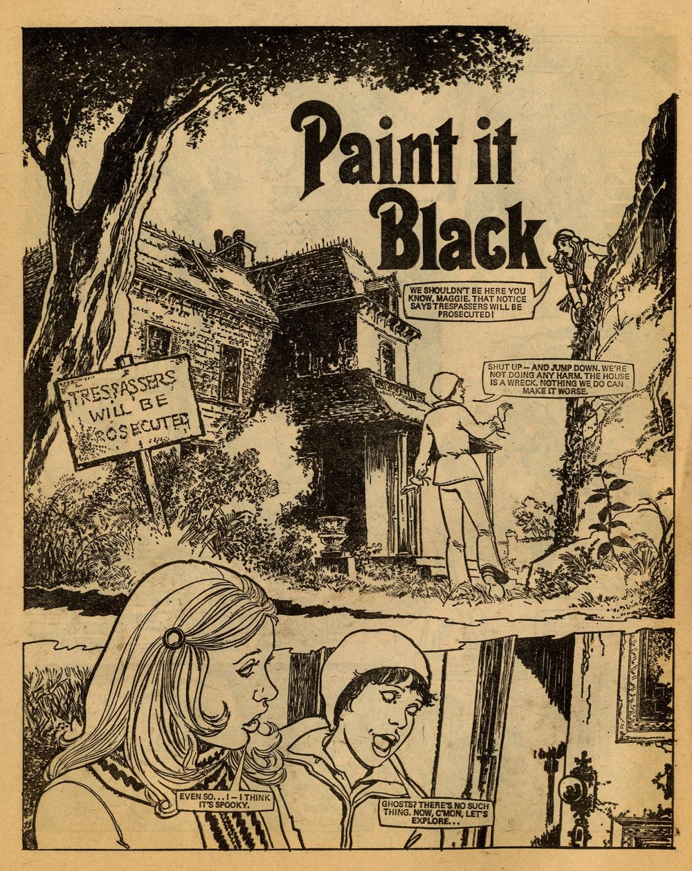 Paint it Black: Alan Davidson (writer), Brian Delaney (artist)