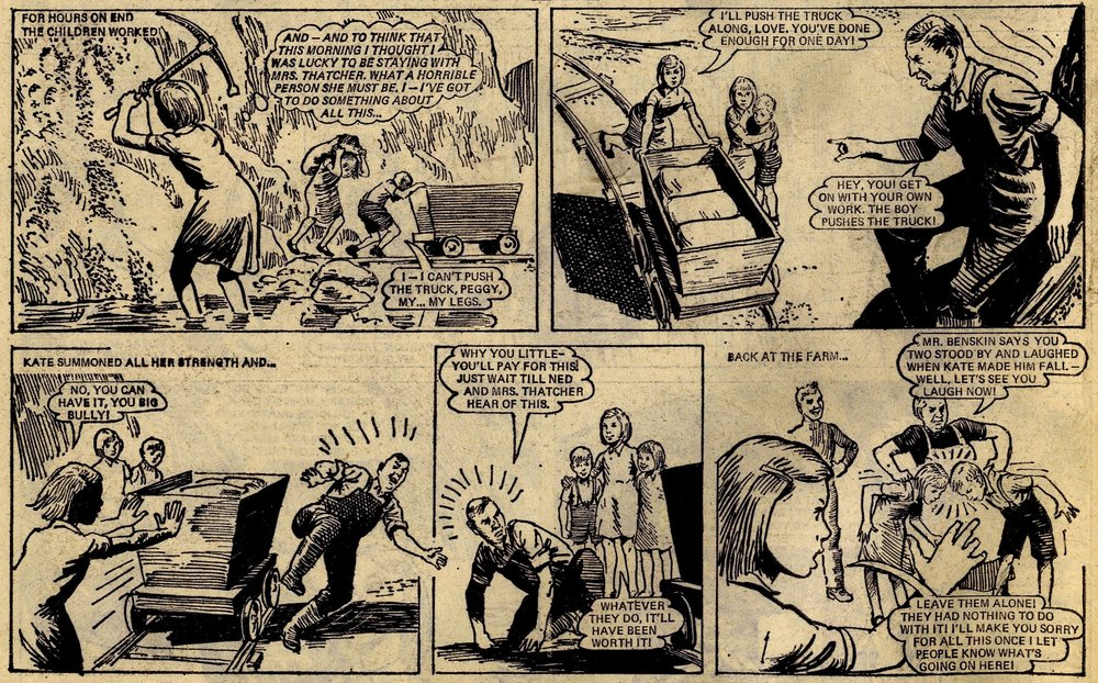 Slaves of 'War Orphan Farm': Gerry Finley-Day (writer), Desmond Walduck (artist)