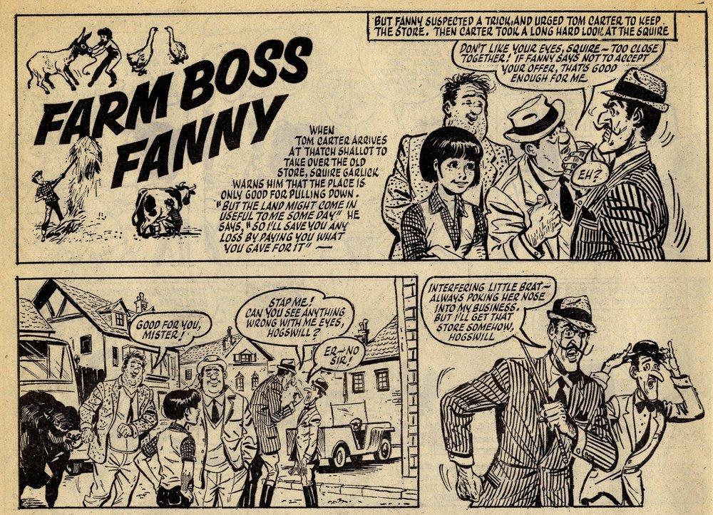 Farm Boss Fanny: artist unknown