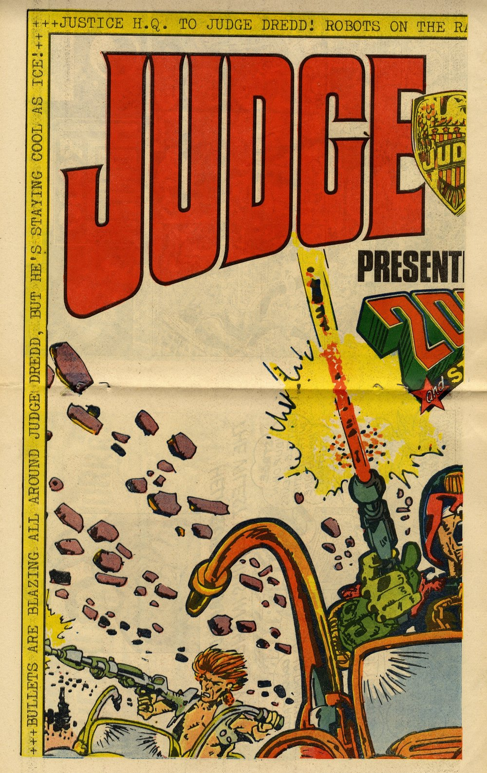 Judge Dredd poster: Mike McMahon (artist)