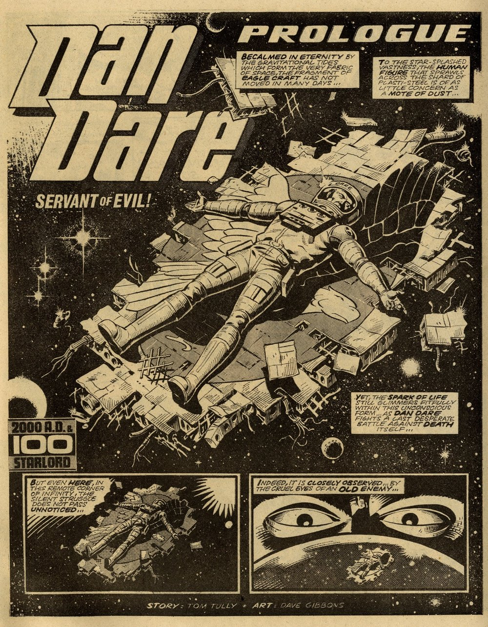 Dan Dare: 'Servant of Evil': Tom Tully (writer), Dave Gibbons (artist)