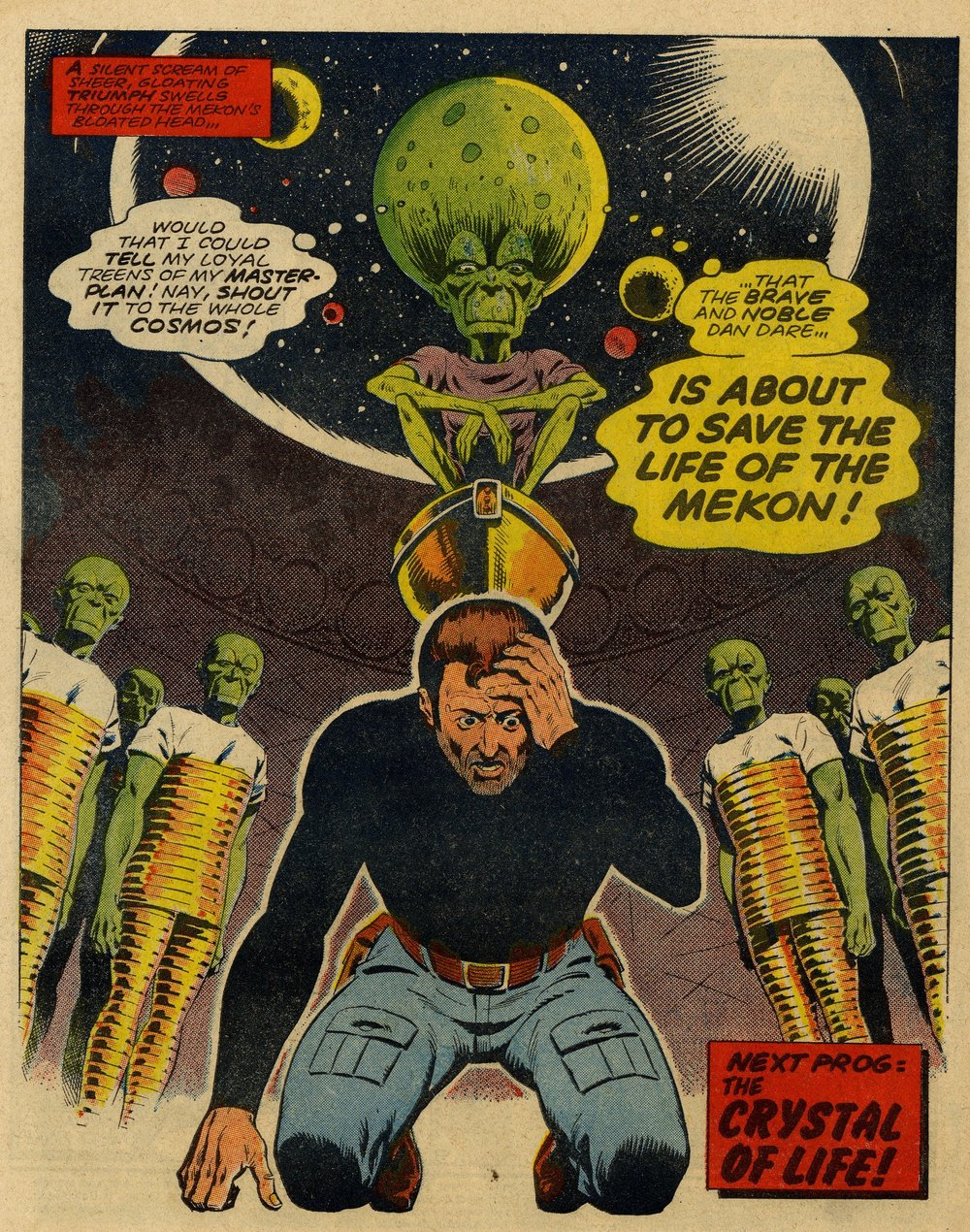 Dan Dare: 'Servant of Evil': Tom Tully (writer), Dave Gibbons (artist)