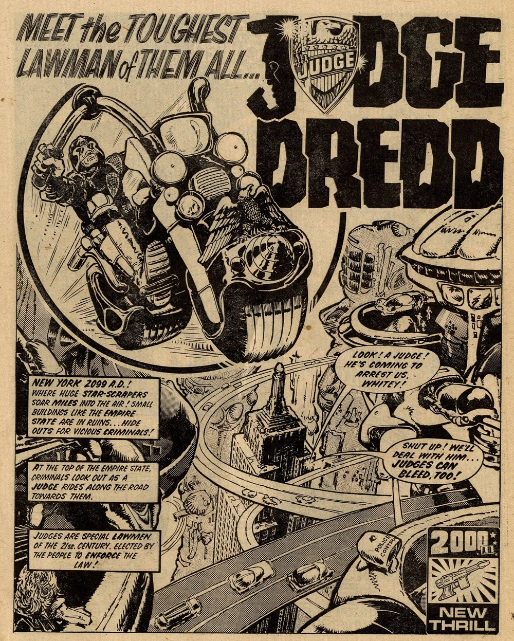 Judge Dredd: Peter Harris (writer), Mike McMahon and Carlos Ezquerra (artists)