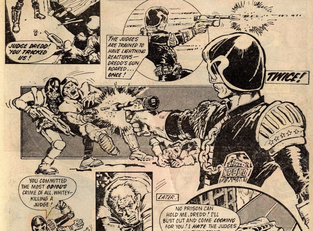 Judge Dredd: Peter Harris (writer), Mike McMahon (artist)