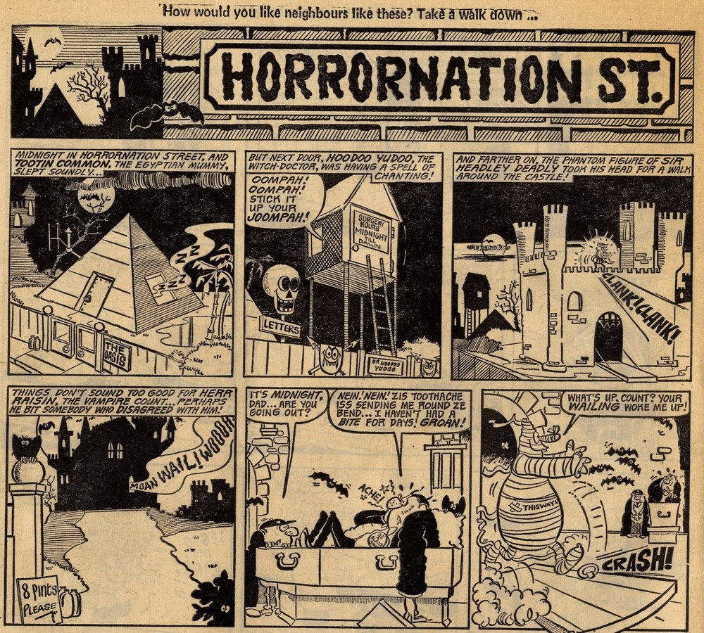 Horrornation St.: Tom Williams (artist)