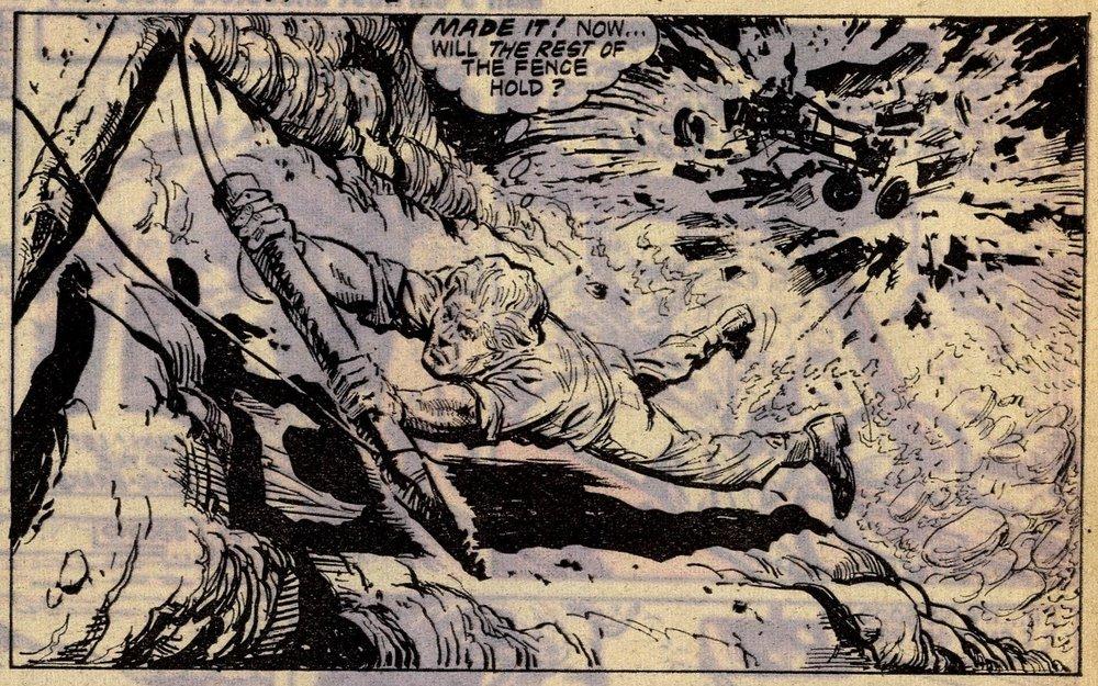 Cliff Hanger: Eric Bradbury (artist)