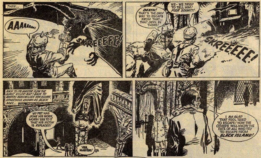 Black Max: Ken Mennell (writer), Alfonso Font (artist)