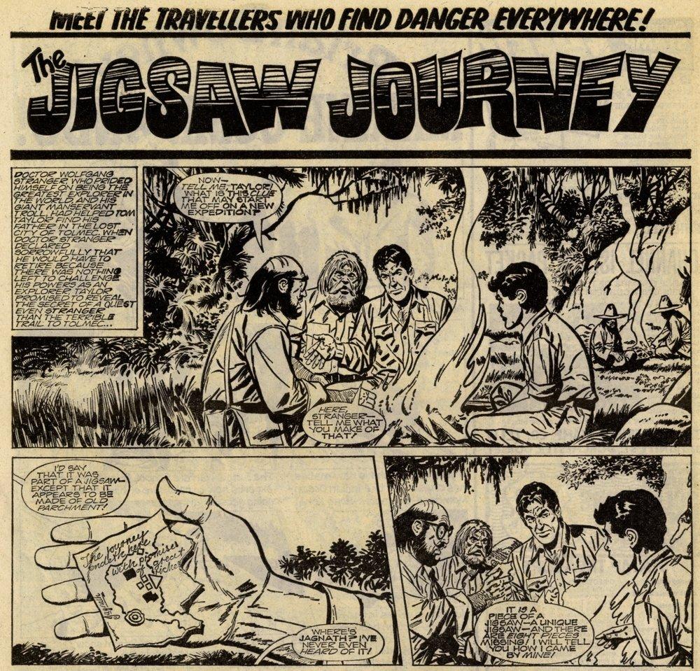 The Jigsaw Journey: Massimo Belardinelli? (artist)