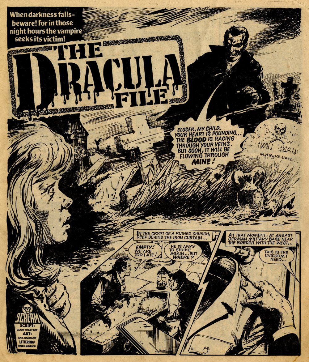 The Dracula File: Gerry Finley-Day (writer), Eric Bradbury (artist)