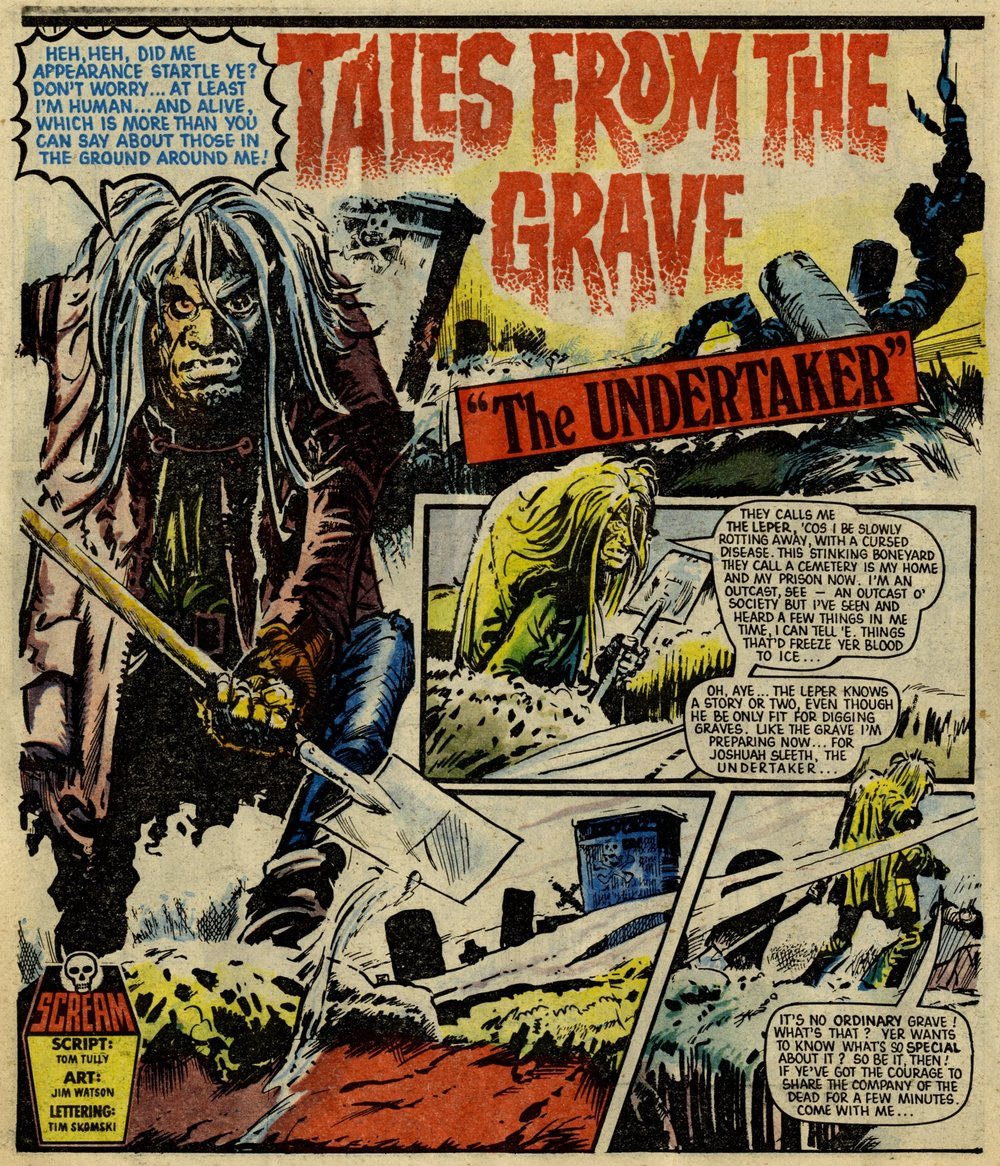 Tales from the Grave: The Undertaker: Tom Tully (writer), Jim Watson (artist)