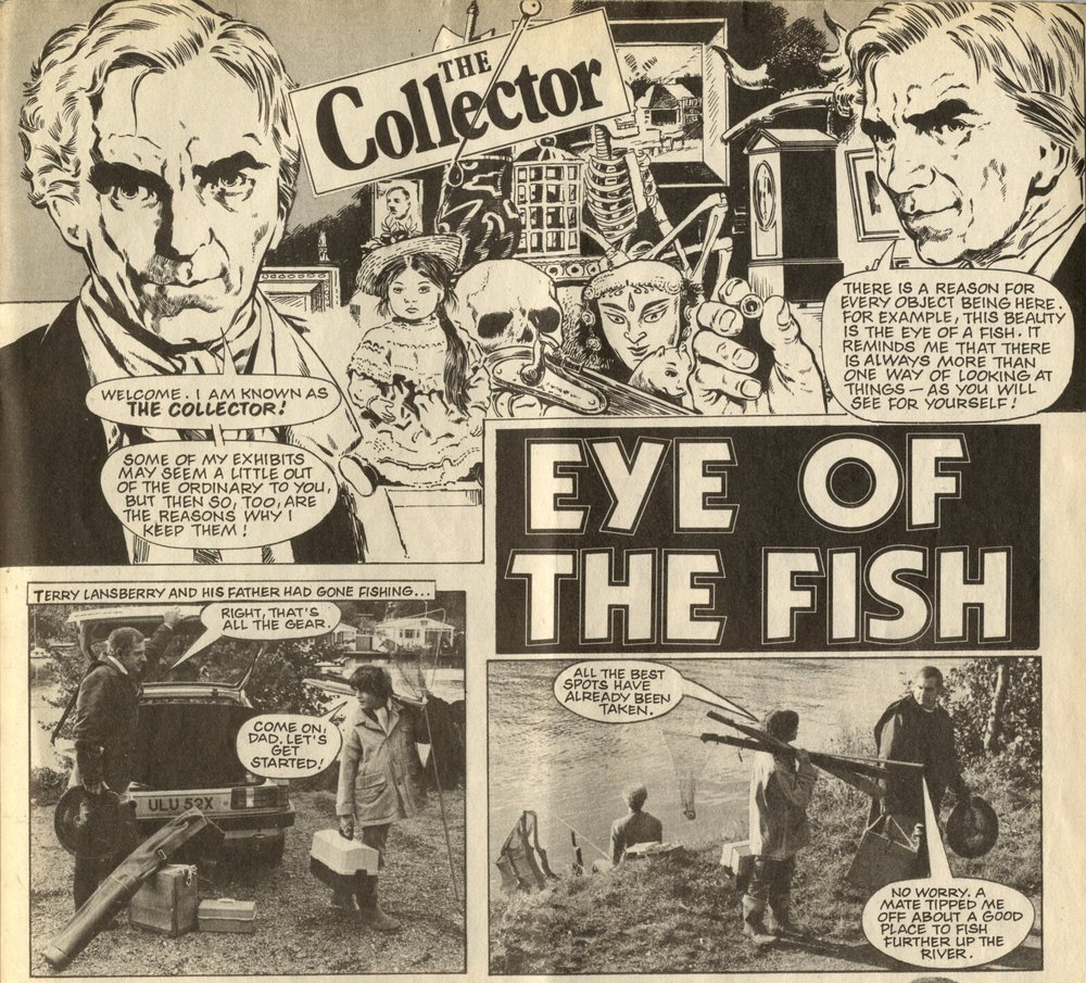The Collector: The Eye of the Fish: Roy Preston (writer), Gary Compton (photographer), Pat Wright (artist)