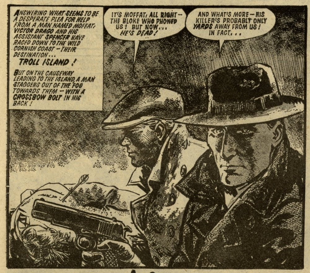 Victor Drago: Bill Henry (writer), Mike Dorey (artist)
