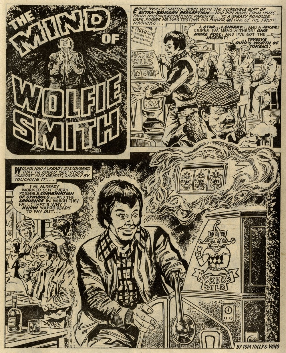 The Mind of Wolfie Smith: Tom Tully (writer), Vicent Vaño (artist)