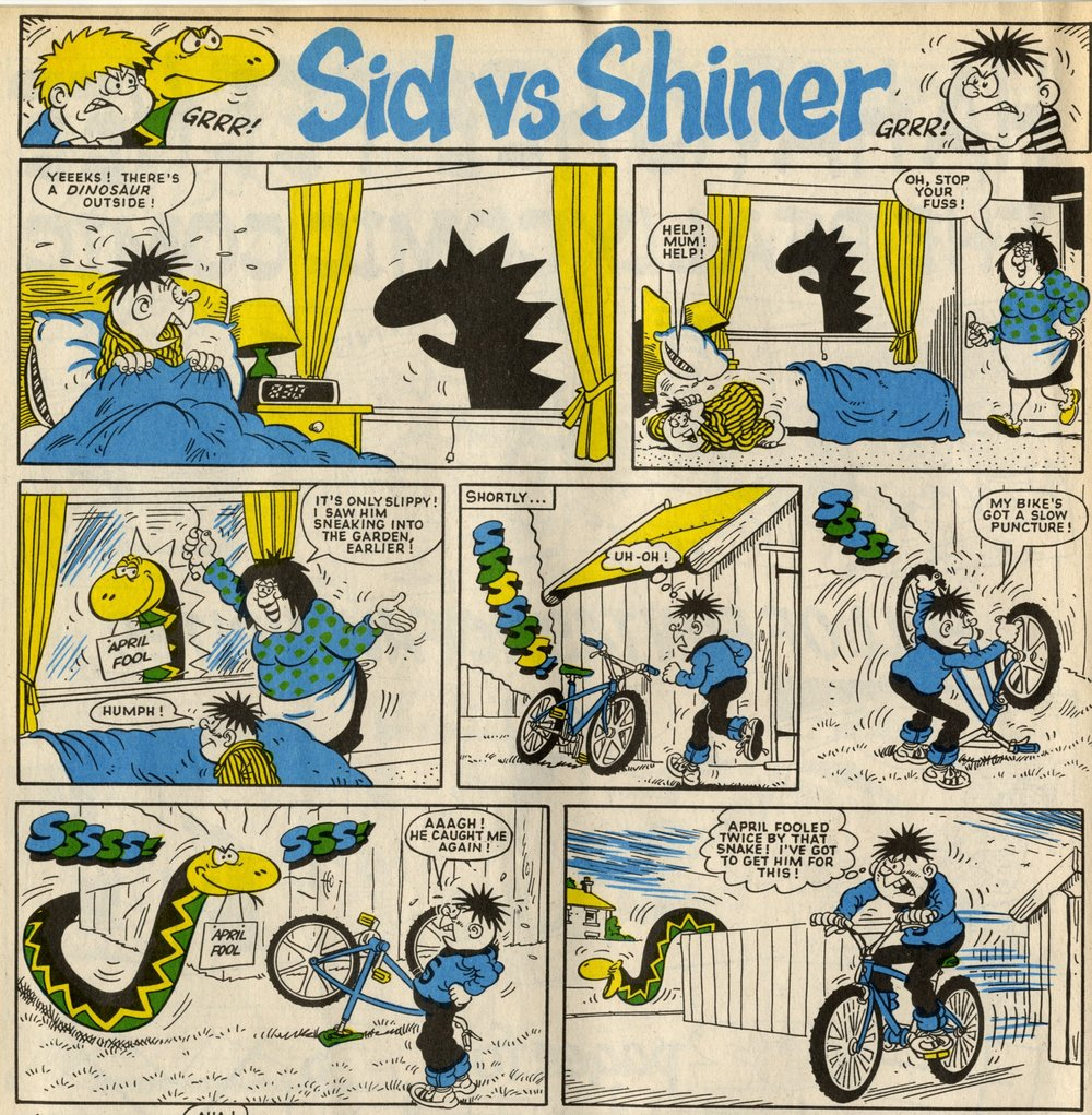 Sid vs Shiner: Mike Lacey (artist)