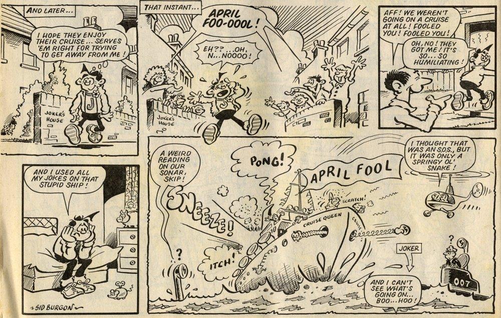 Joker: Sid Burgon (artist)