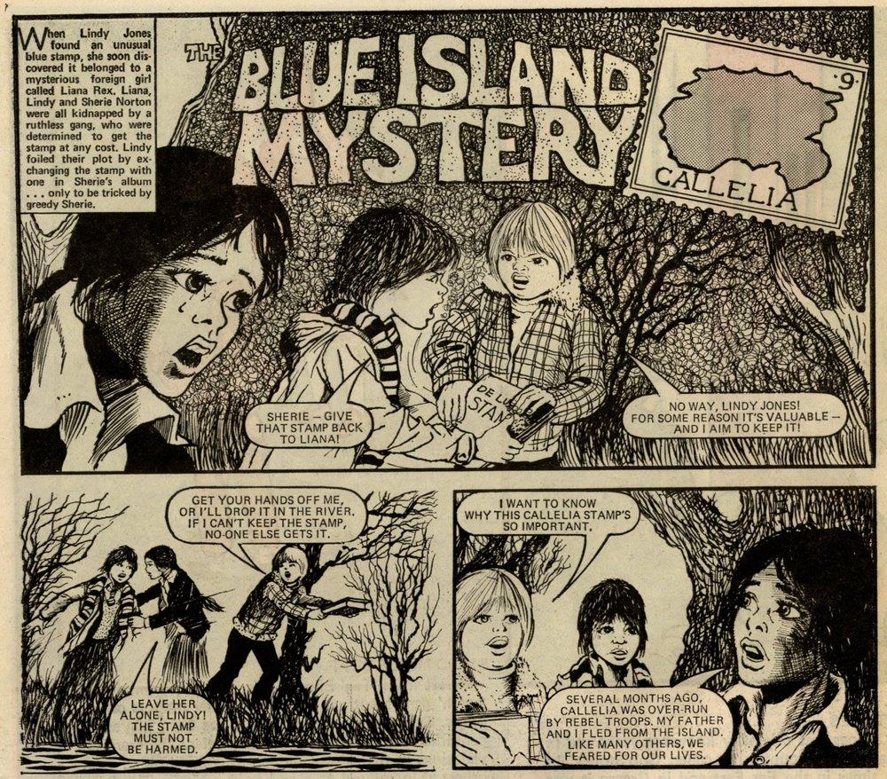 The Blue Island Mystery: Keith Robson (artist)