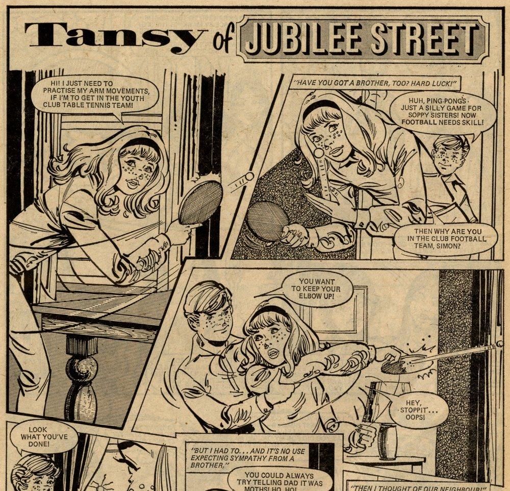 Tansy of Jubilee Street: Ken Houghton (artist)