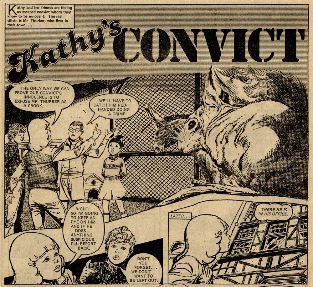 Kathy's Convict: Jesus Peña (artist)