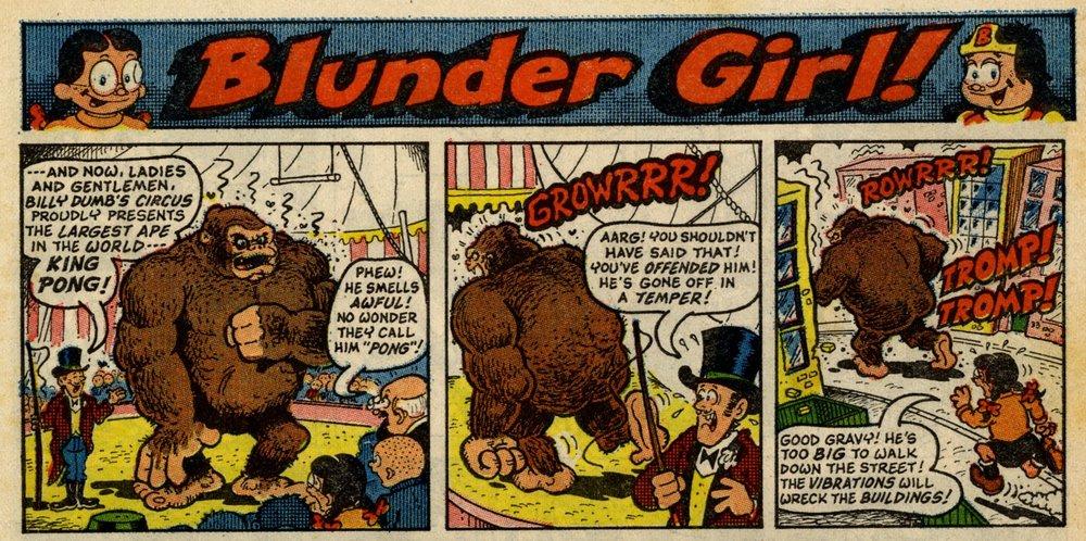 Blunder Girl: Jack Edward Oliver (artist)