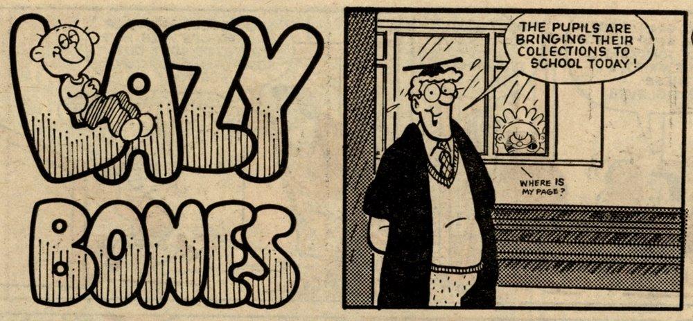 Lazy Bones: Colin Whittock (artist)
