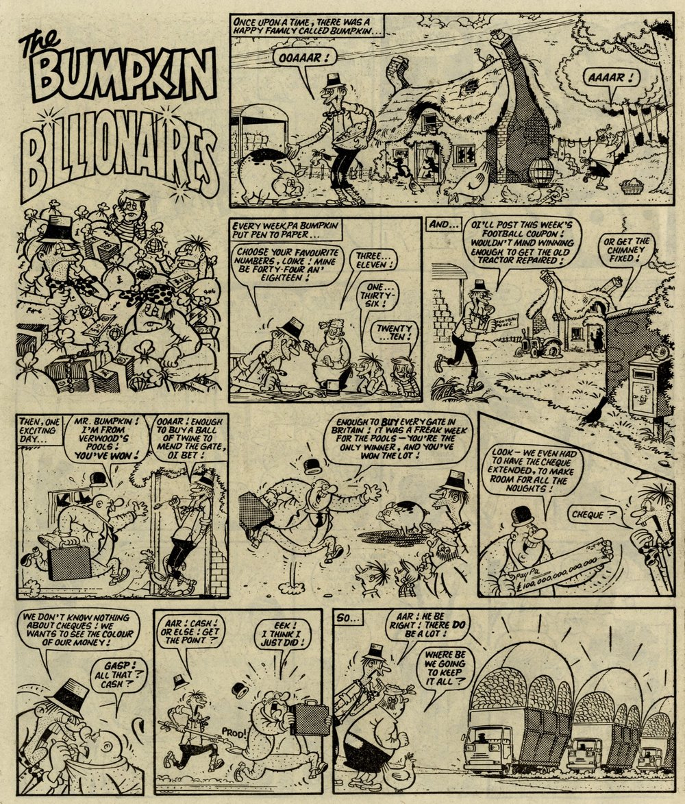 The Bumpkin Billionaires: Mike Lacey (artist)