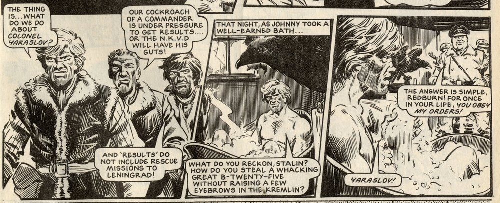 Johnny Red: Tom Tully (writer), John Cooper (artist)