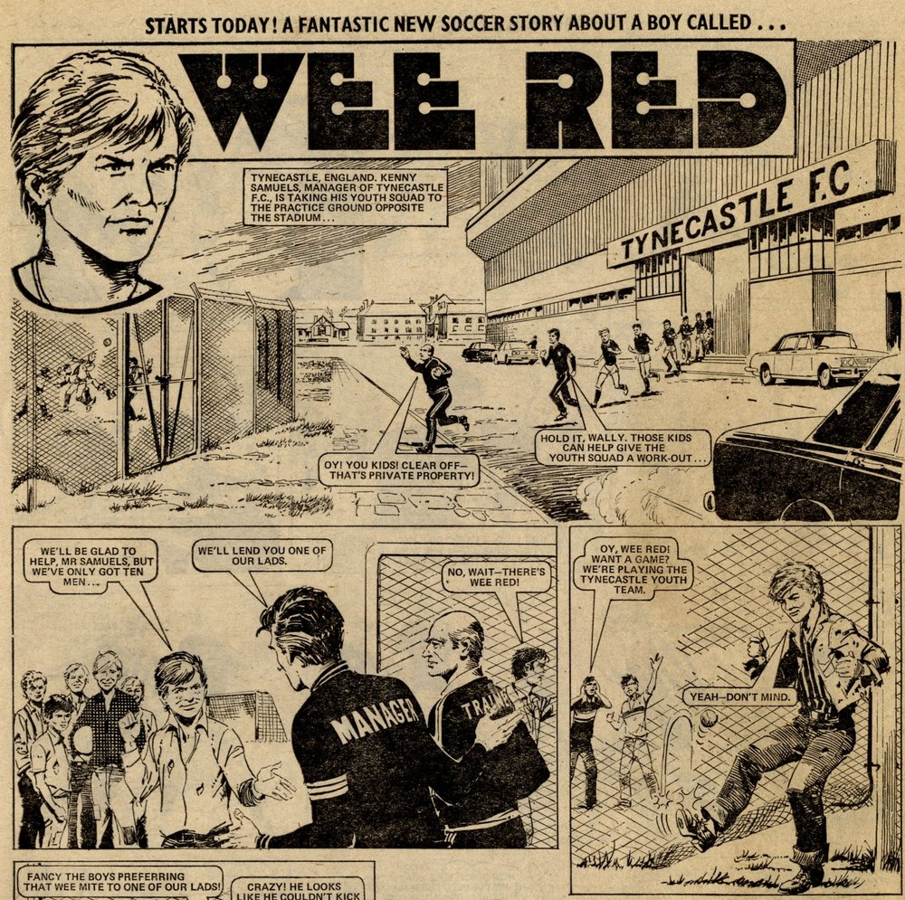 Wee Red: Miguel Repetto (artist)