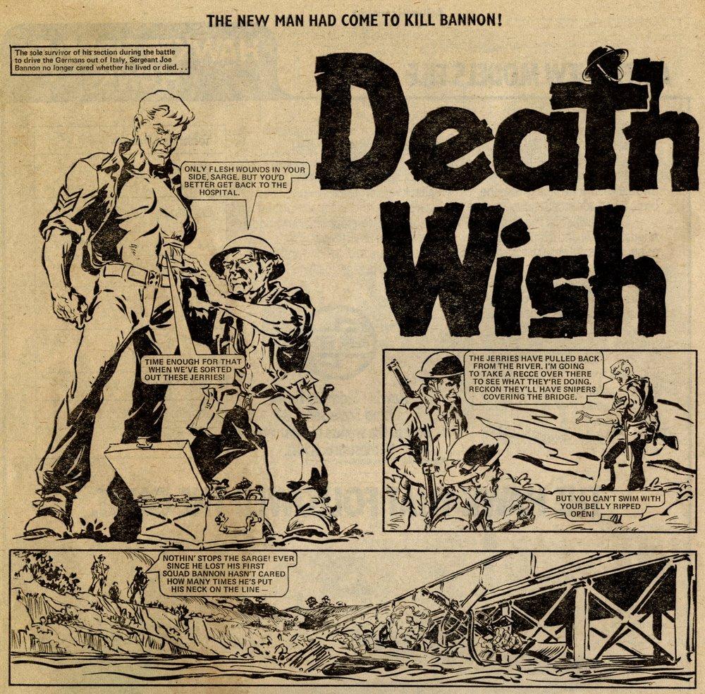Death Wish: Ian Gibson (artist)