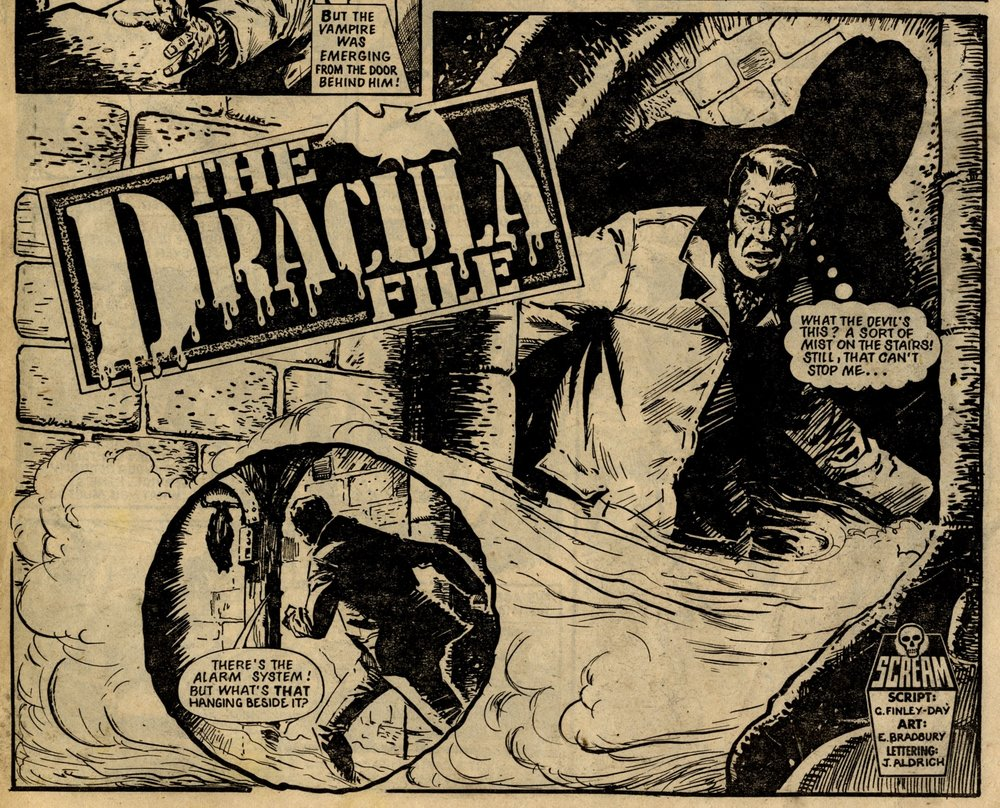TheDracula File: Gerry Finley-Day (writer), Eric Bradbury (artist)