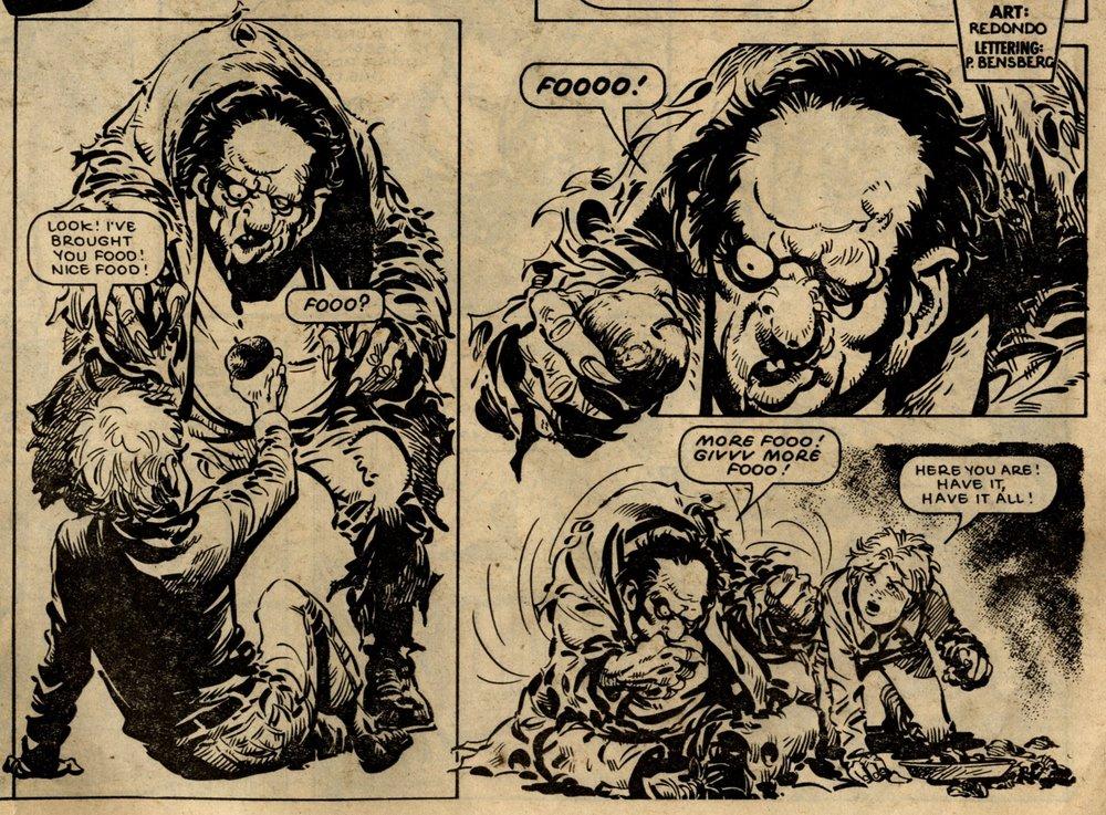 Monster: John Wagner (writer), Jesus Redondo (artist)