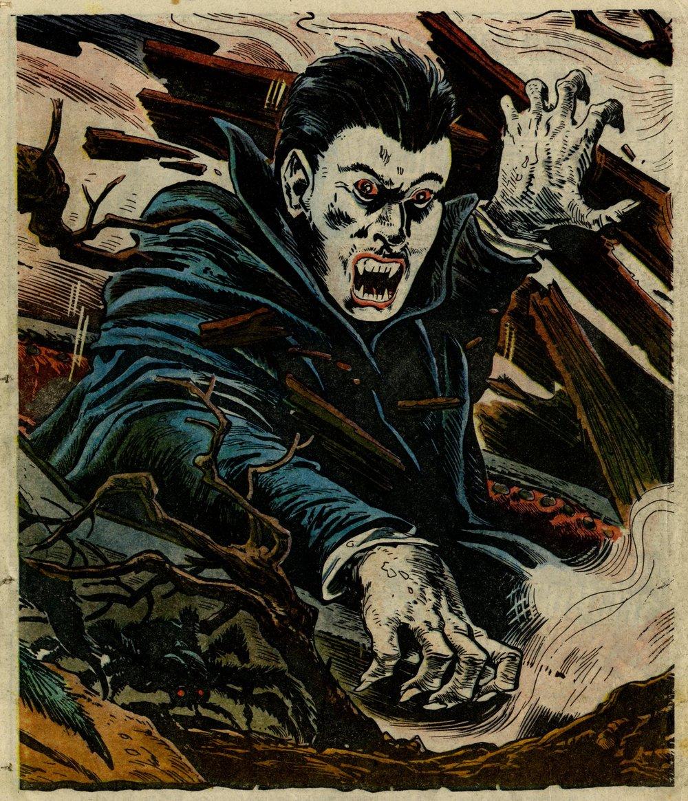 Dracula poster: Oliver Frey (artist)