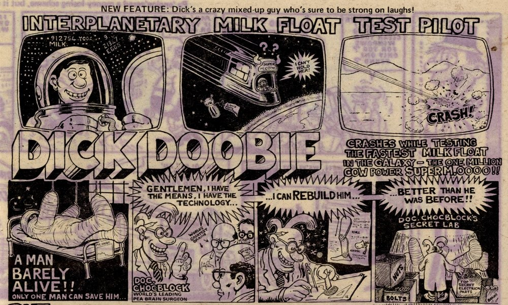 Dick Doobie The Back to Front Man: Steve Bell (artist)