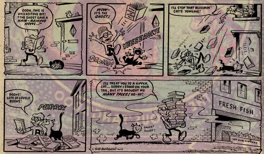 Book Worm: Sid Burgon (artist)