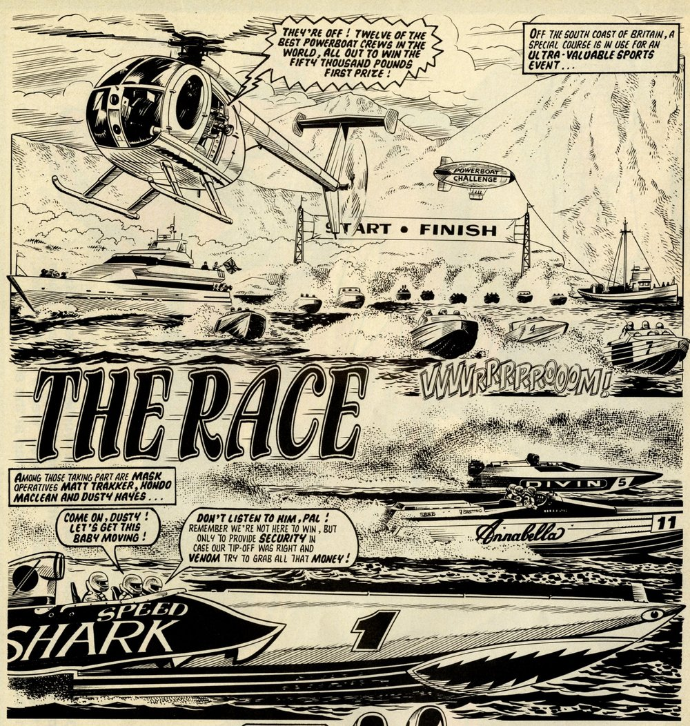 The Race: Sandy James? (artist)